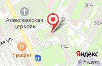 Схема проезда до компании Севэнергострой в Пскове