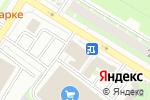 Схема проезда до компании К-9 в Пскове