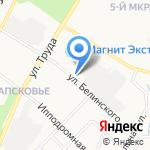 АВА-СМ на карте Пскова