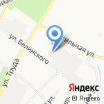 Охрана и безопасность на карте Пскова