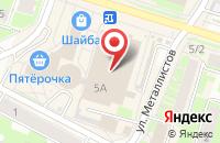 Схема проезда до компании МКК Прогресс Сервис Абсолют в Пскове
