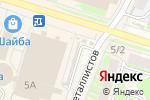 Схема проезда до компании Ваша флора в Пскове