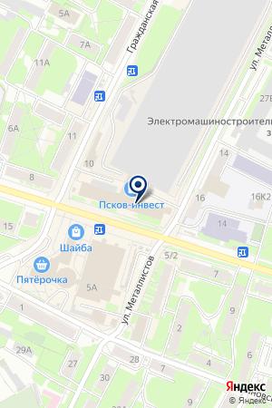 МОБИЛЬНАЯ СВЯЗЬ на карте Пскова