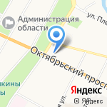 Каравелла-тур на карте Пскова