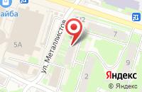 Схема проезда до компании РыбоLove в Пскове