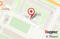 Схема проезда до компании Пищемонтаж в Пскове