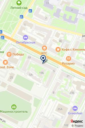 NOBEL на карте Пскова