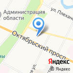 KINOHOME на карте Пскова