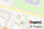 Схема проезда до компании Бистро в Пскове