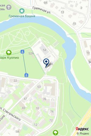 АВТОБИЗНЕС-ЦЕНТР РУСЬ-АВТО на карте Пскова