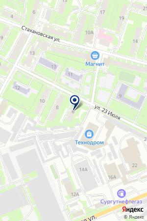 АВТОСАЛОН АВТО-РУСЬ на карте Пскова