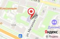 Схема проезда до компании Сервис-Групп в Пскове