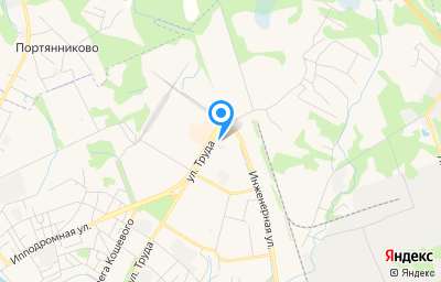 Местоположение на карте пункта техосмотра по адресу г Псков, ул Труда, д 79