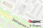 Схема проезда до компании Березка в Пскове