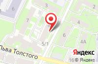 Схема проезда до компании Псковский Металлист в Пскове