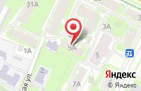 Схема проезда до компании Аякс-Сервис в Пскове