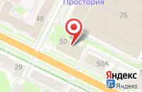 Схема проезда до компании Пуск в Пскове