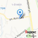 Вольный Купец на карте Пскова