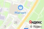 Схема проезда до компании Магазин женской и детской одежды в Пскове
