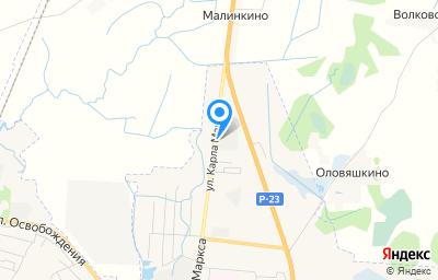 Местоположение на карте пункта техосмотра по адресу Псковская обл, г Остров, ул К.Маркса, д 90