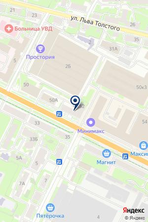 LAWINE на карте Пскова