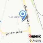 Умка на карте Пскова