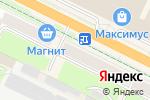 Схема проезда до компании Ермолино в Пскове