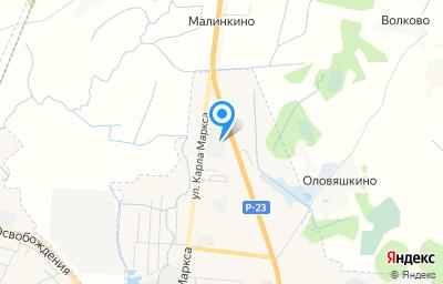 Местоположение на карте пункта техосмотра по адресу Псковская обл, г Остров, ул К.Маркса, стр 90