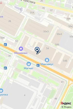 АВТОМАГАЗИН АВТОДЕТАЛЬ на карте Пскова