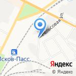 Псковский кабельный центр на карте Пскова