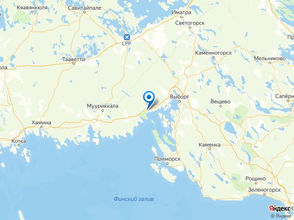 поселок Чулково на карте