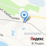 Псковский гончар на карте Пскова