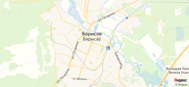 Гостиницы Борисова - объекты на карте