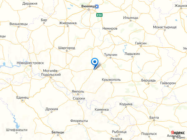 село Липовка на карте