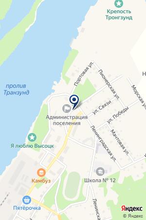 СКЛАД ВЕНТА на карте Кировска