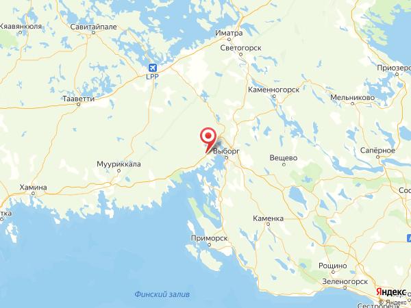 поселок Новинка на карте