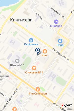 АПТЕКА ДОБРЫЙ ДОКТОР на карте Киришей