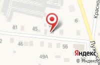Схема проезда до компании Сибэкспром в Кингисеппе
