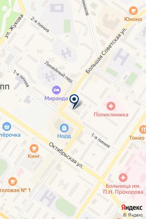 АТЕЛЬЕ на карте Киришей