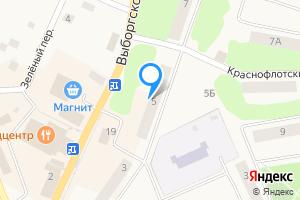 Двухкомнатная квартира в Приморске Выборгский р-н, Выборгское ш., 5
