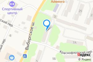 Сдается двухкомнатная квартира в Приморске Выборгский р-н, Выборгское ш., 7