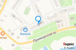 Снять трехкомнатную квартиру в Приморске ое городское поселение, Приморск, Выборгское шоссе, 1Б
