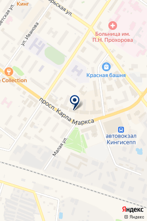АПТЕКА на карте Киришей