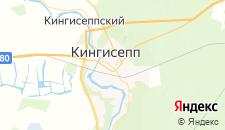 Гостиницы города Кингисепп на карте
