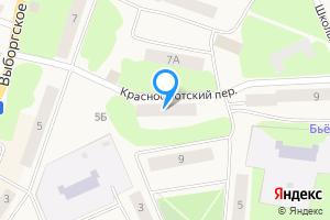 Двухкомнатная квартира в Приморске Приморское городское поселение, Выборгский район, Ленинградская область, Выборгское шоссе, 5А