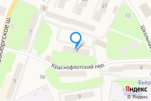 Двухкомнатная квартира в Приморске Приморское городское поселение, Выборгский район, Ленинградская область, Выборгское шоссе, 7А