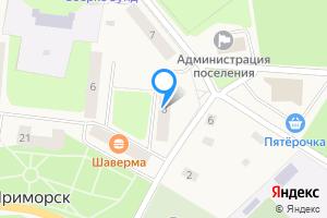 Однокомнатная квартира в Приморске Лебедева наб, 8