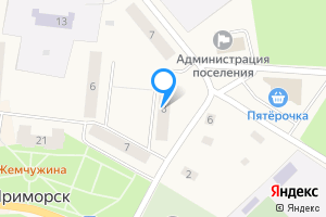 Сдается однокомнатная квартира в Приморске Приморское городское поселение, Выборгский район, Ленинградская область, набережная Лебедева, 8