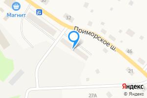 Двухкомнатная квартира в Приморске Гагарина наб .7