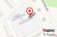 Схема проезда до компании ОБЩЕРАЗВИВАЮЩЕГО ВИДА ДЕТСКИЙ САД ОСТРОВОК в Советском